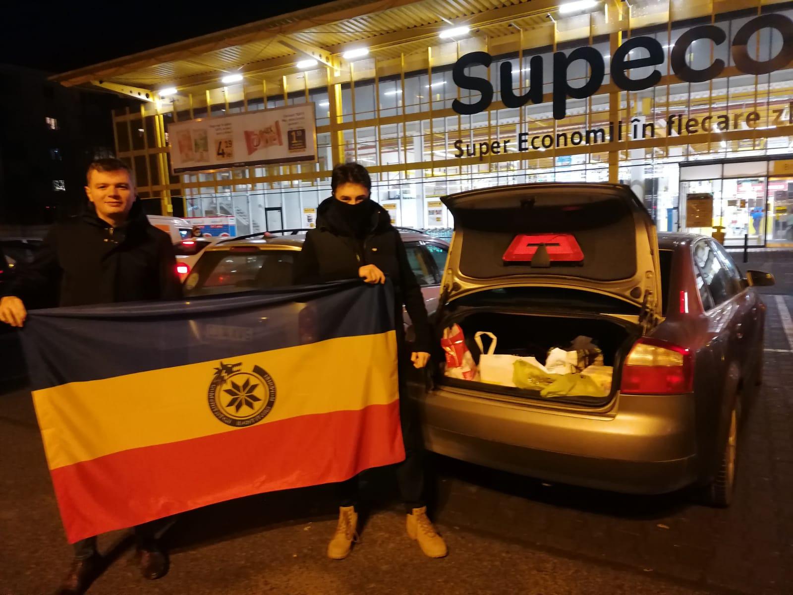 acțiuni de ajutorare a românilor