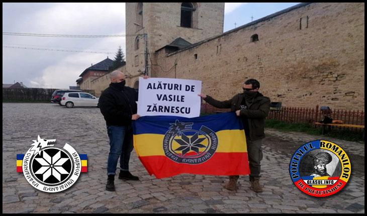Comunitatea Identitară Iași alături de Vasile Zărnescu