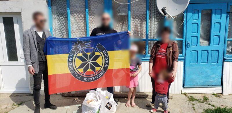 Acțiune caritabilă la Iași comuna Voinești