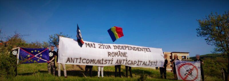 """Mesajul naționaliștilor de la Comunitatea Identitară - """"Anticomuniști Anticapitaliști"""""""