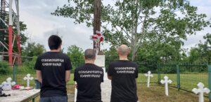 Comunitatea Identitară Iași renovează un monument în memoria Eroilor Neamului